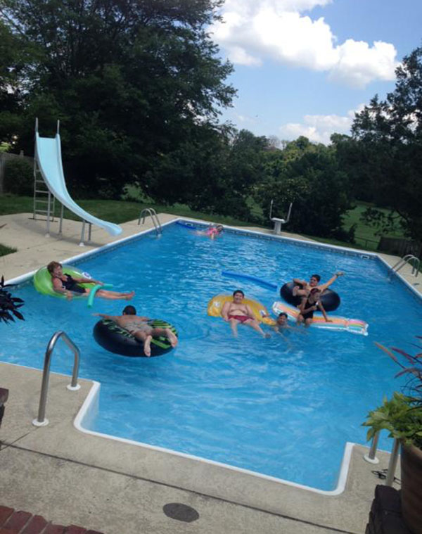 Pool loving