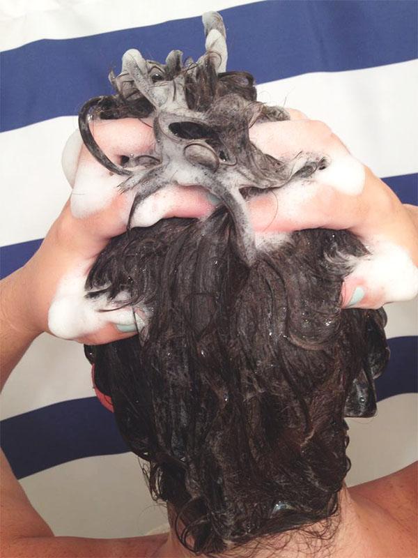 Sudsy shampoo 2