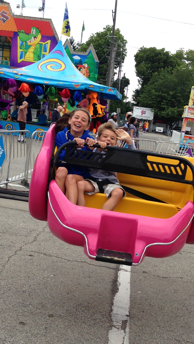 L and b on ride